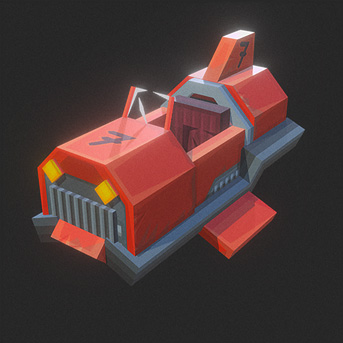 Hypixel Turbo Kart Racers Red