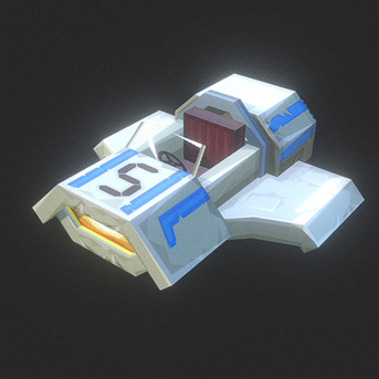 Hypixel Turbo Kart Racers White